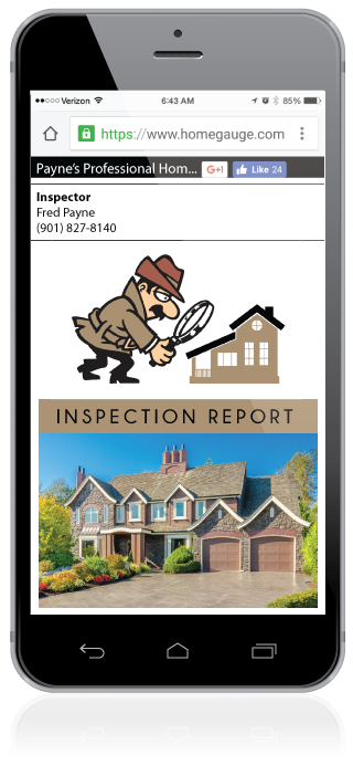 Homegauge CRL Digital Home Inspection Report